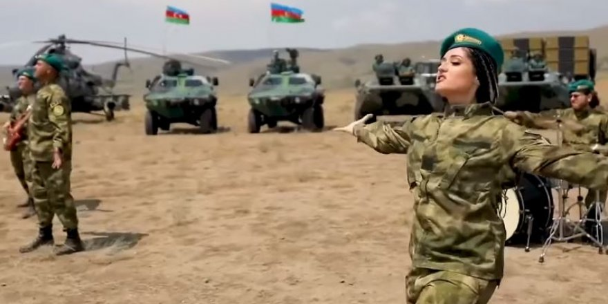 Azerbaycan Ordusu'nun paylaşım rekoru kıran videosu