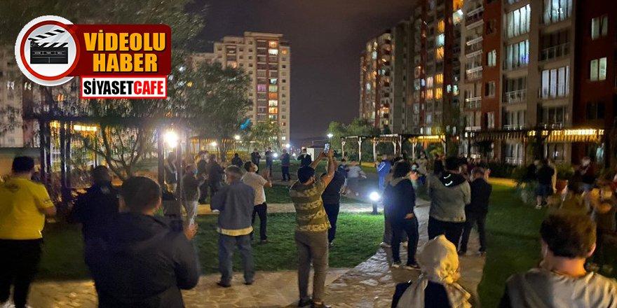 Emlak Konutları'nda yaşayan5 bin site sakini, site yönetimini protesto etti