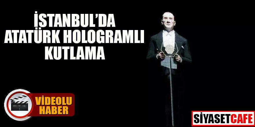 İstanbul'da Atatürk hologramlı kutlama
