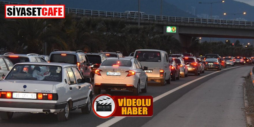 Deprem sonrası İzmir'den kaçış yoğunluğu!