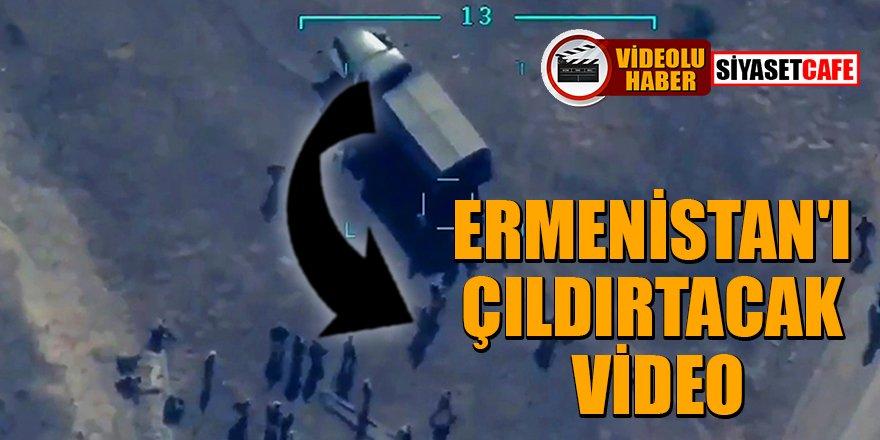 SİHA'LAR onlarca Ermeni askerini böyle vurdu