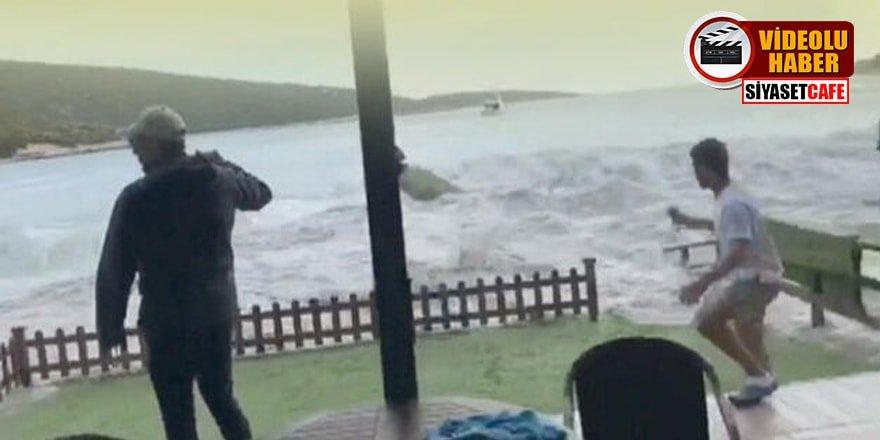 İzmir'deki tsunaminin yeni görüntüleri ortaya çıktı