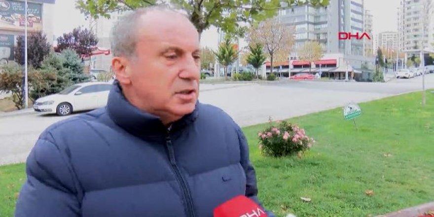 İnce'den Kılıçdaroğlu'na çok sert sözler: Sıkıştığı zaman yalan atıyor