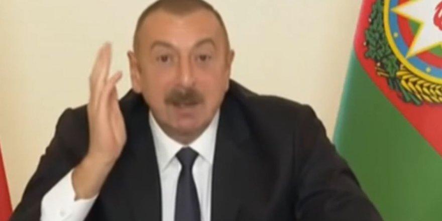"""İlham Aliyev'den muhteşem konuşma: """"Sen kimsin?"""""""