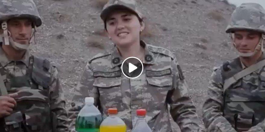 Brezilyalı küçük çocuğun Azerbaycan askerine mektubu