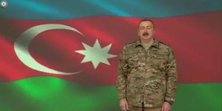 İlham Aliyev Şuşa'nın kurtuluşunu böyle duyurdu