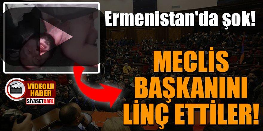 Ermenistan'da şok! Meclis Başkanı Ararat Mirzoyan'ı linç ettiler