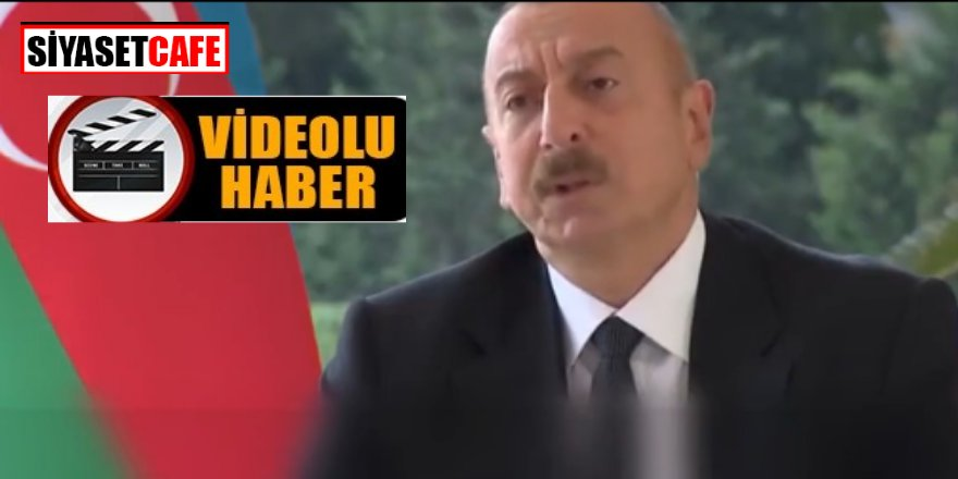 Azerbaycan Cumhurbaşkanı  İlham Aliyev'den BBC muhabirine muhteşem cevap