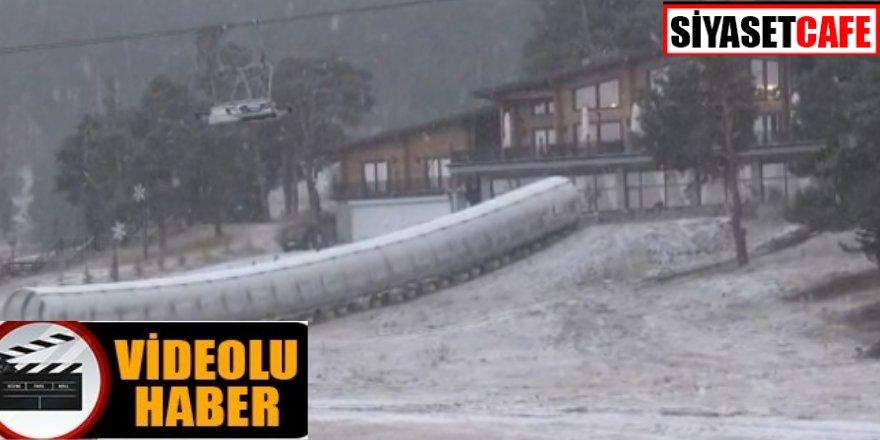 Kars'ta soğuk, Sarıkamış'ta kar
