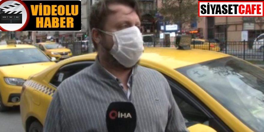 Alkollü yolcu ücret konusunda tartıştı, işte o taksici konuştu