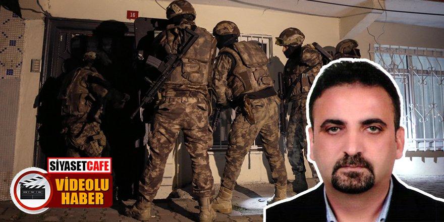 Şişli Başkan Yardımcısı gözaltına alınmıştı! İşte terör operasyonunun görüntüleri