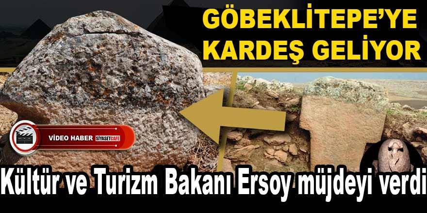Göbeklitepe'ye kardeş geliyor! Turizm Bakanı Ersoy müjdeyi verdi!