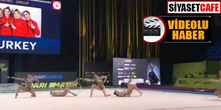 Türkiye'yi gururlandırdılar! Ritmik Jimnastik Grup Milli Takımı Avrupa Şampiyonu oldu