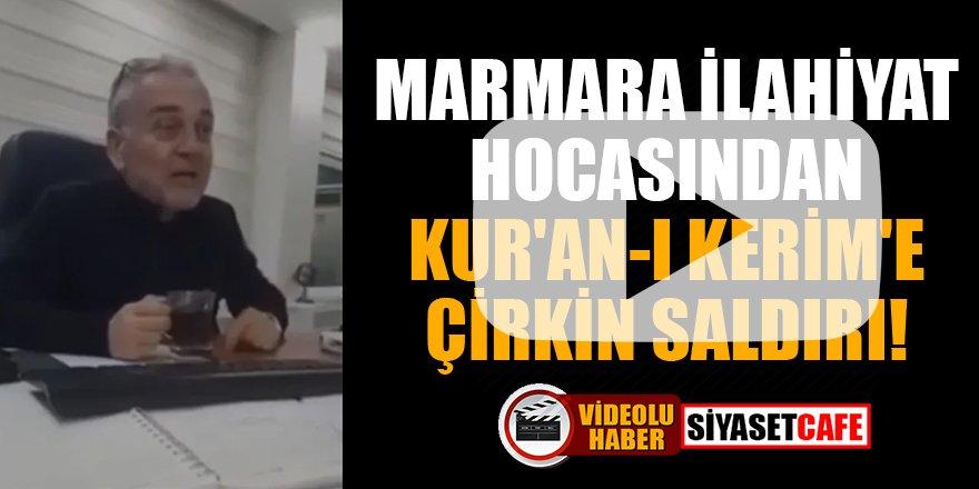 Marmara İlahiyat hocası Mustafa Öztürk'ten Kur'an-ı Kerim'e çirkin saldırı
