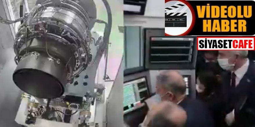 Bakan duyurdu: İlk milli helikopter motoru teslim edildi
