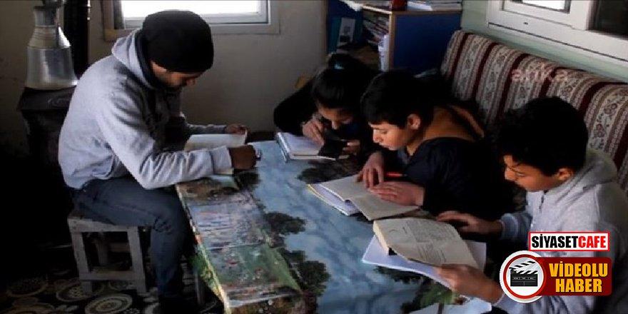 Kars'ta öğrenciler isyan etti! 'Yeter artık İnternet istiyoruz'
