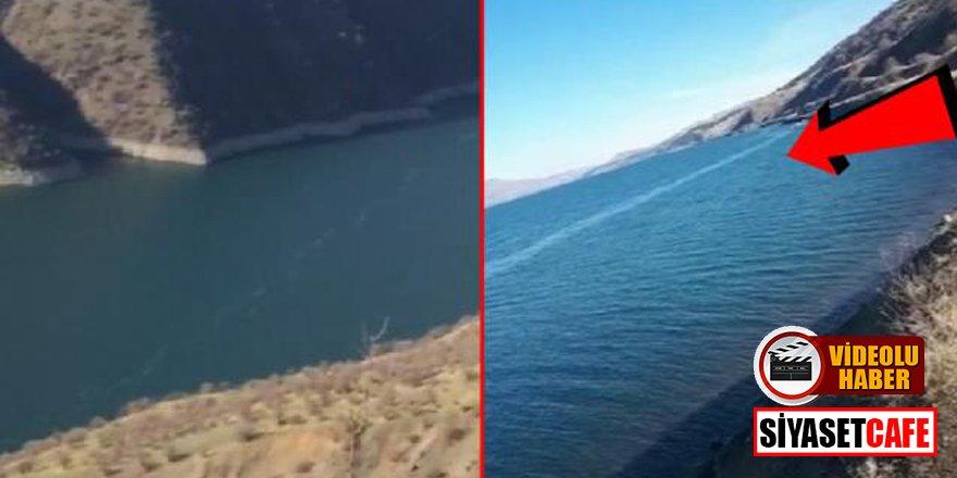 Elazığ'daki depremin ardından oluşan fay kırıkları görüntülendi