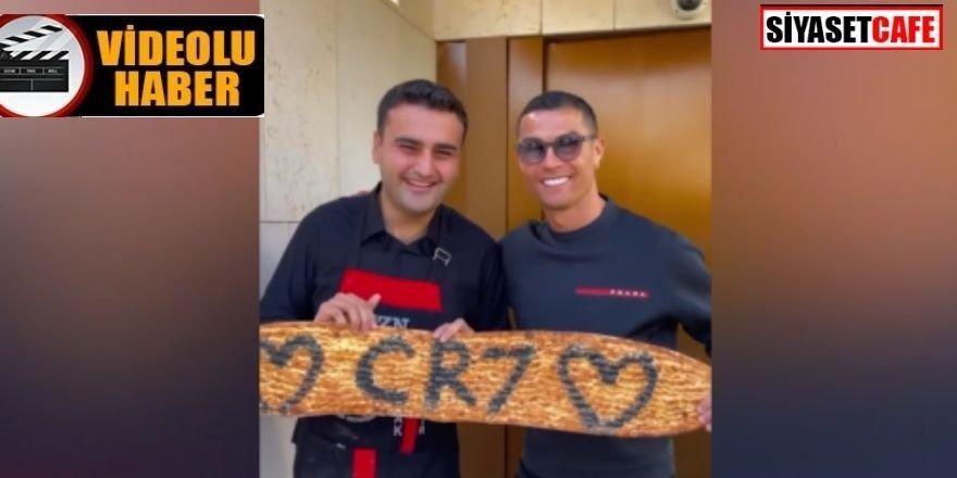 Dubai'de Cristiano Ronaldo'yu ağırlayan Czn Burak olay oldu