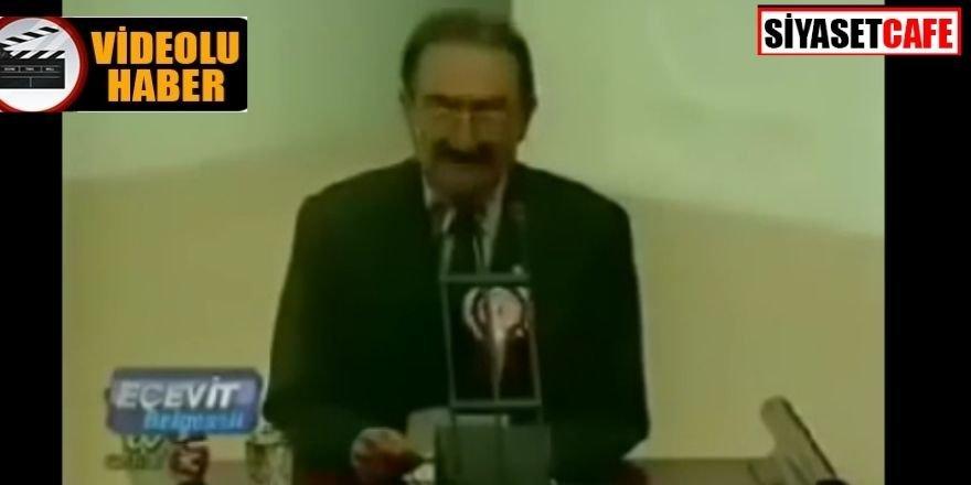 Bülent Ecevit türbanlı vekil Merve Kavakçı'yı böyle kovmuştu