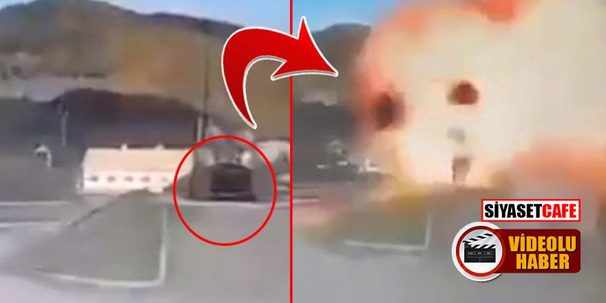 İHA'lar Ermenistan'a ait S-300'leri böyle imha etti!