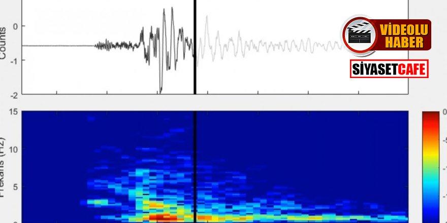 Ankara'daki depremin ürkütücü sesi korkuttu