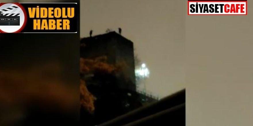 Bir esnaf Ankara Kalesi surlarından aşağıya atlayarak intihar etti