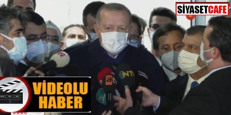 Erdoğan'dan siyasilere aşı teşviği