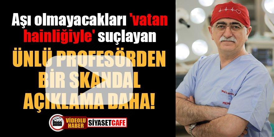 Prof. Dr. Bingür Sönmez'den bir skandal açıklama daha!