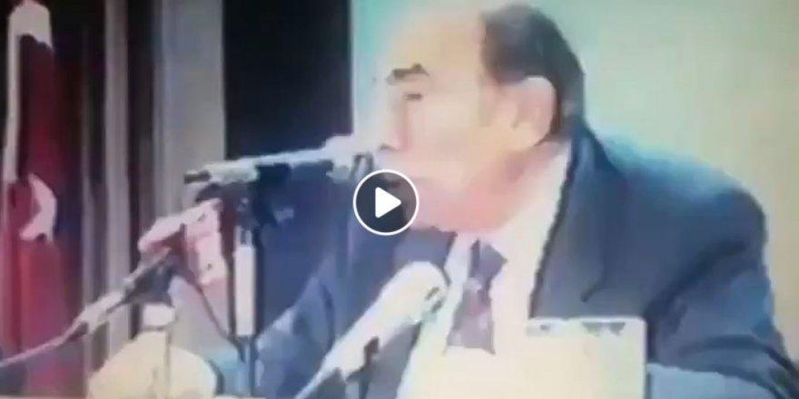 Alparslan Türkeş'ten Enver Paşa yorumu