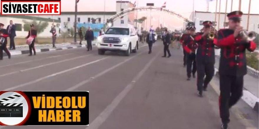 Bakan Hulusi Akar Bağdat'ta böyle karşılandı