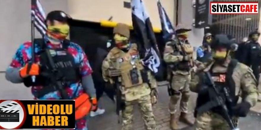 Trump yanlısı silahlı gruplar toplanıyor