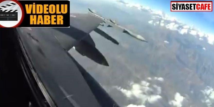 TSK'dan hava harekatı: 4 terörist etkisiz hale getirildi