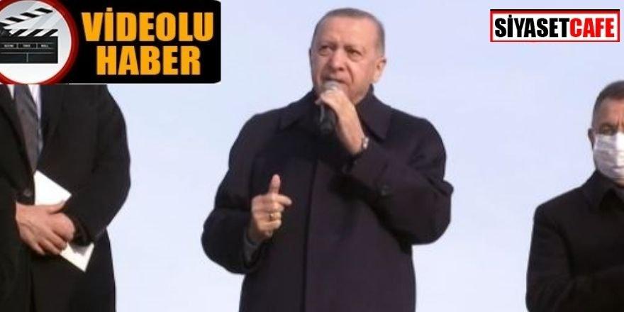 Erdoğan tarih verdi: 6 ay içinde bitecek