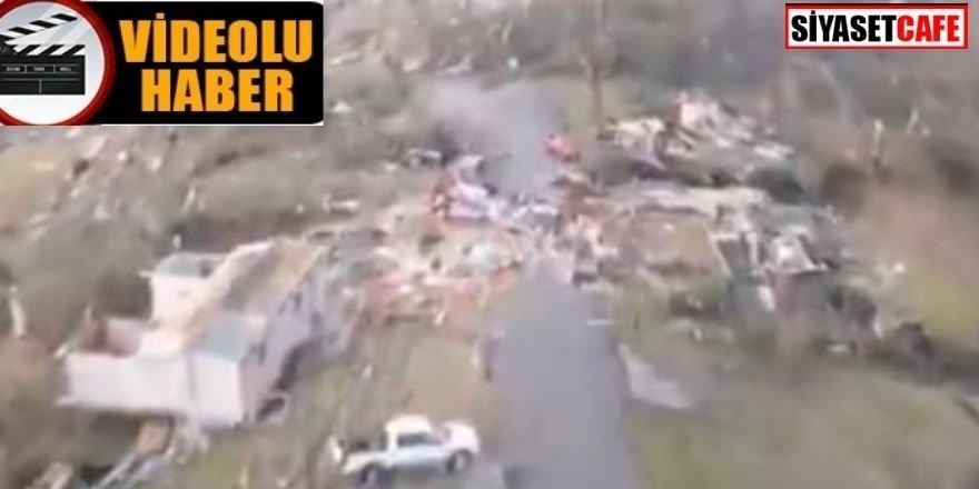 ABD'de kasırga: Bir çok yerleşim yeri yıkıldı