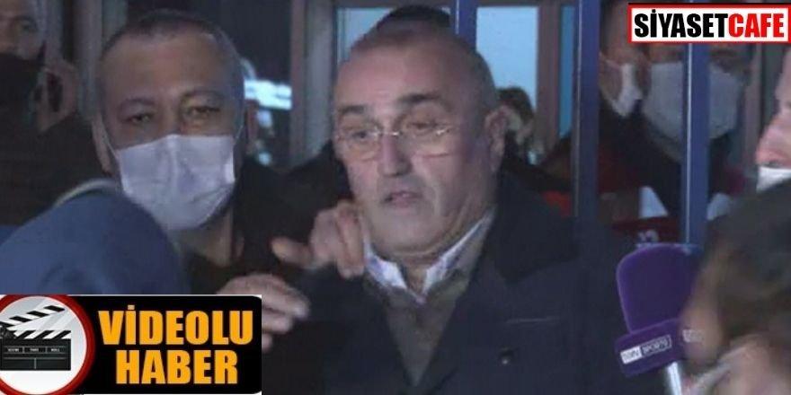 Abdurrahim Albayrak'a Fenerbahçeli taraftardan saldırı