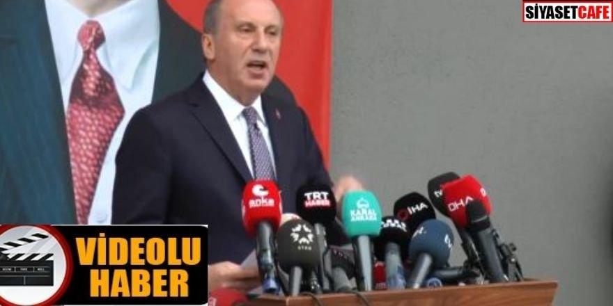 Muharrem İnce CHP'den istifa etti! İşte o sözleri...