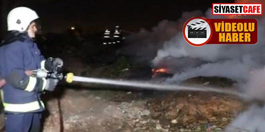 Antalya'da yangın: Duman gökyüzünü kapladı
