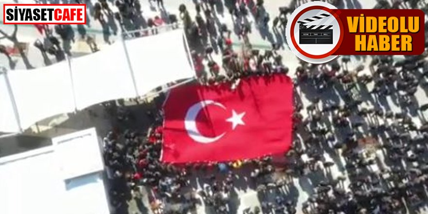 Şırnak kırmızı beyaza büründü, vatandaşlar teröre karşı yürüdü