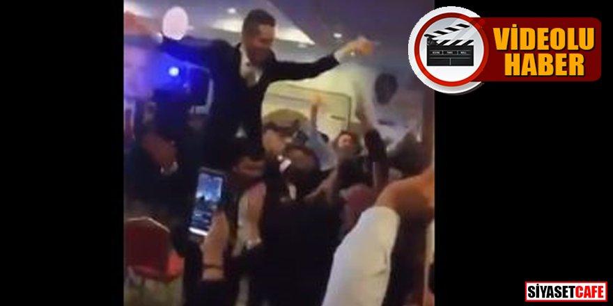 AK Parti kongresinde inanılmaz görüntüler -video-