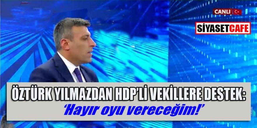 Öztürk Yılmaz Akit Tv'de katıldığı programda konuştu