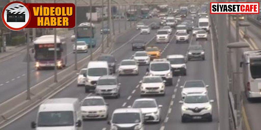 Yasak kalktı: İstanbul'da trafik yoğunluğu arttı