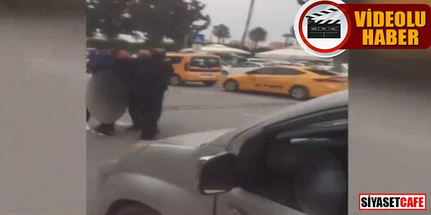 Eski futbolcu Hasan Şaş Havalimanı'nda güçlükle sakinleştirildi