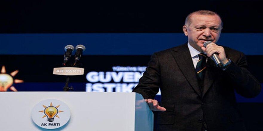 Kongreden notlar: Erdoğan'dan teşekkür konuşması