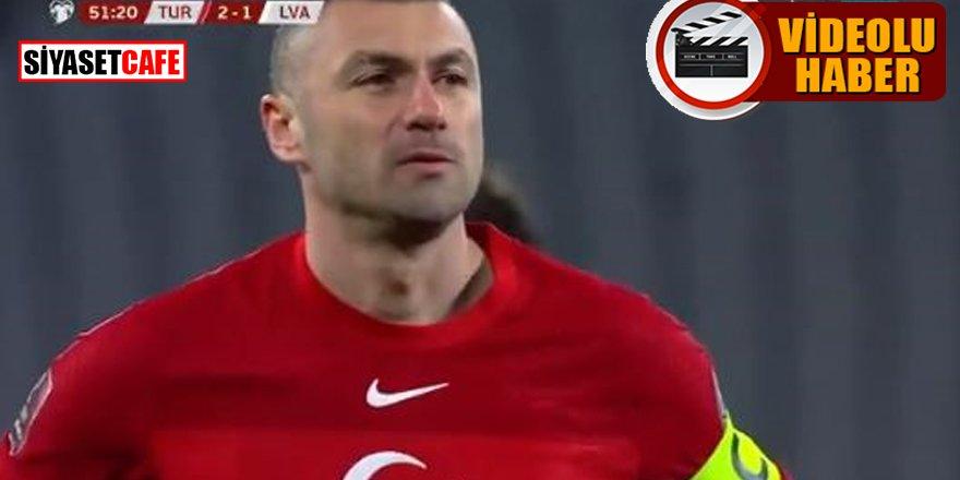 Burak Yılmaz'ın penaltıdan attığı gol