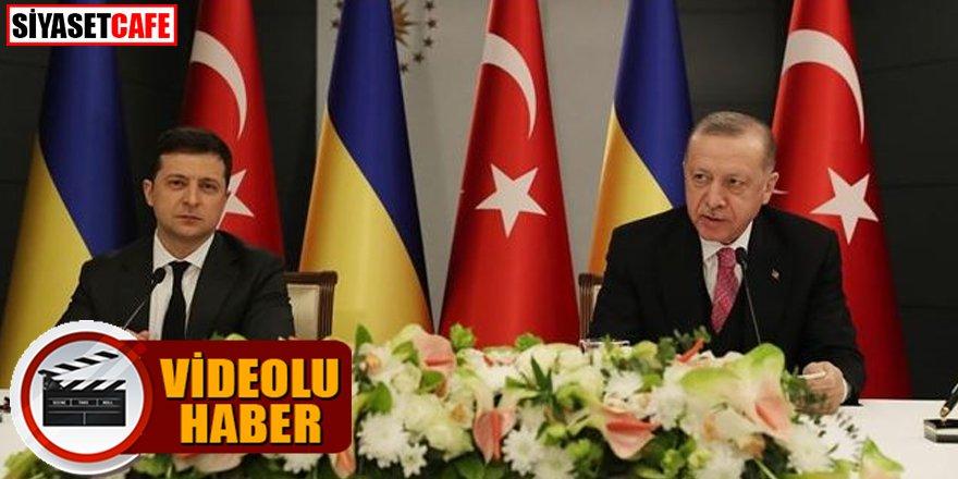 Cumhurbaşkanı Erdoğan'dan net Kırım mesajı!