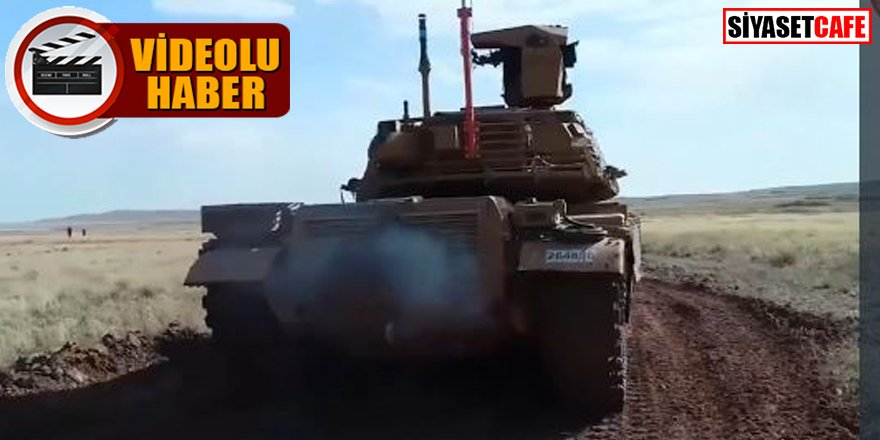 VOLKAN-M Atış Kontrol Sistemi tankla test edildi