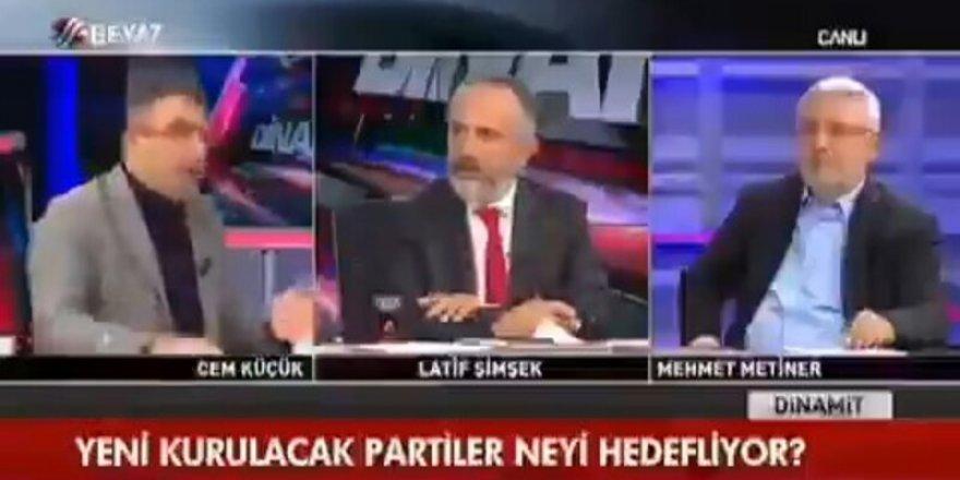 Cem Küçük: Erdoğan dışında birisi seçilirse hepimizi yargılarlar.