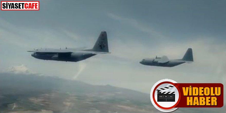 TSK paylaştı: Havadan personel atlatma görevi icra edildi