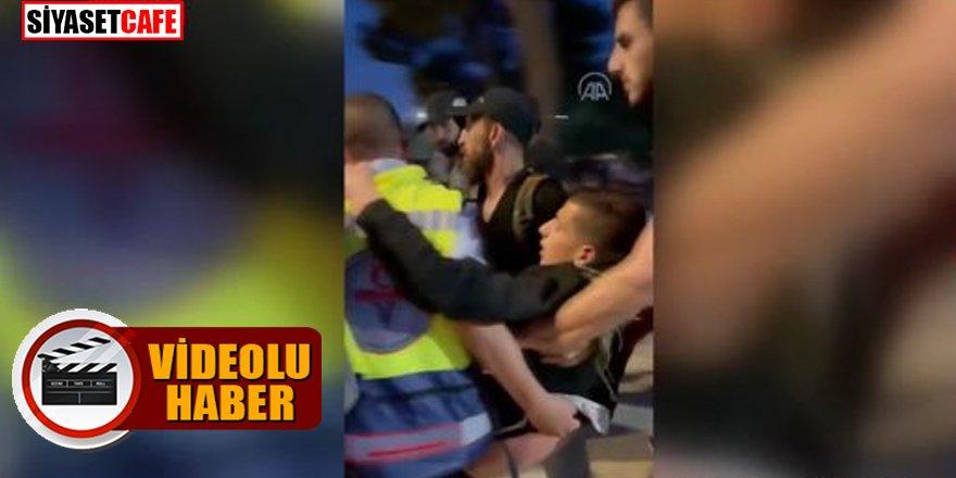 Kudüs'te Filistinlilere yönelik saldırılar devam ediyor: Yaralananların sayısı 300'ü geçti