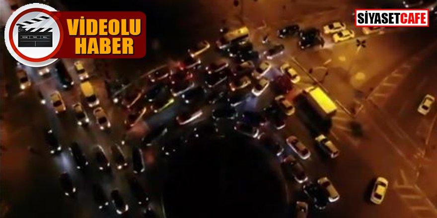 Kudüs için binlerce araçtan oluşan destek konvoyu
